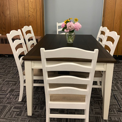table and chairs - French Creek Recovery Center - family program